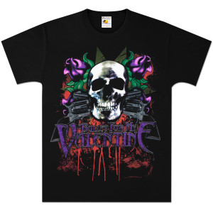 Bullet For My Valentine Skull Gun T-Shirt