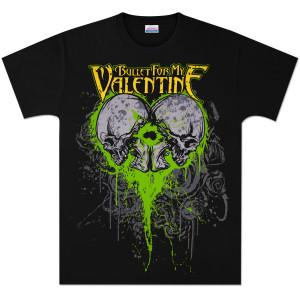 Bullet For My Valentine Skeleton Heart T-Shirt