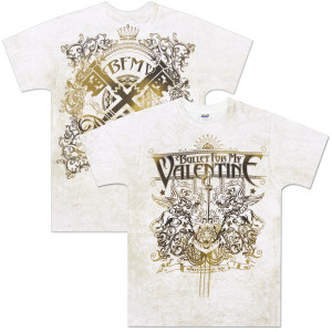 Bullet For My Valentine Royal Allover T-Shirt