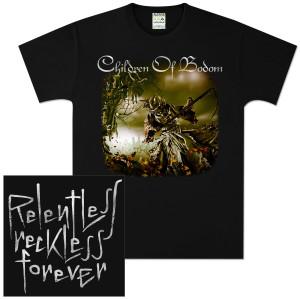 Children Of Bodom Relentless Reckless Forever T-Shirt