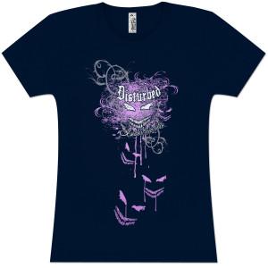 Disturbed Indestructible Flourish Girls' Fitted T-Shirt