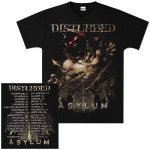 Disturbed Breakout 2011 Tour T-Shirt