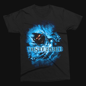 Disturbed Blue Fade T-Shirt
