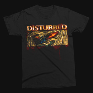 Disturbed Guy Up Close T-Shirt