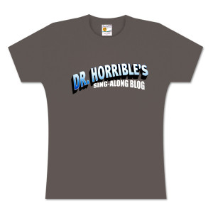 Dr. Horrible's Sing-Along Blog™ Women's T-Shirt