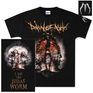 Dawn Of Ashes I Am The Judas Worm T-Shirt