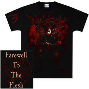 Dawn Of Ashes Farewell To The Flesh T-Shirt