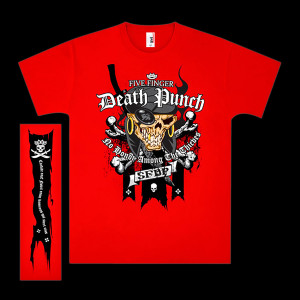 Five Finger Death Punch Pirate T-Shirt