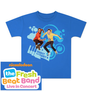 Fresh Beat Band Twist and Shout Youth T-Shirt