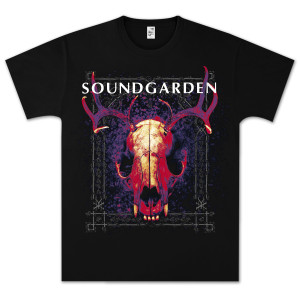 Soundgarden Skull Glow T-Shirt