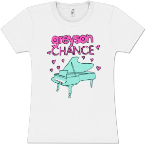 Greyson Chance Heart Notes Piano Babydoll