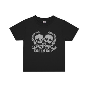 Green Day Skulz Toddler T-Shirt