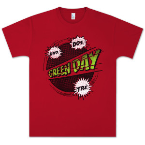 Green Day Power Up T-Shirt