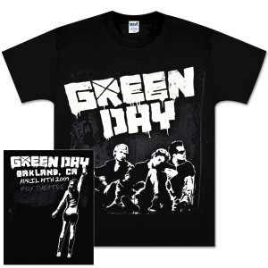 Green Day Stencil City T-Shirt