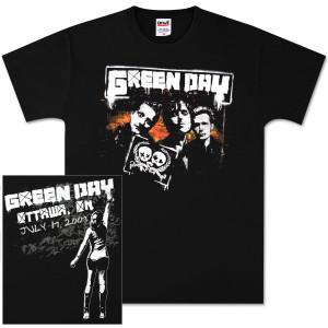 Green Day Ottawa Event T-Shirt