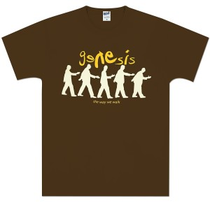 Genesis The Way We Walk Brown Tee