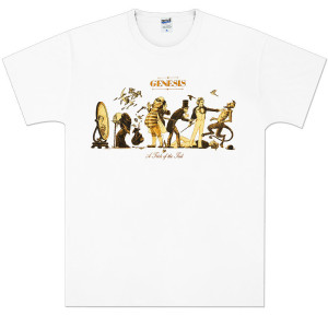 Genesis Trick of the Tail White Tee