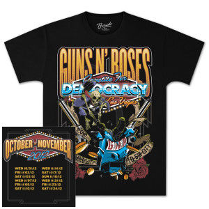 Guns N' Roses Appetite for Democracy T-Shirt