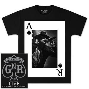 Guns N' Roses Ace Axl T-Shirt