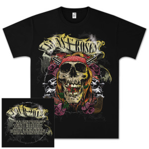 Guns N' Roses Trashy Skull T-Shirt