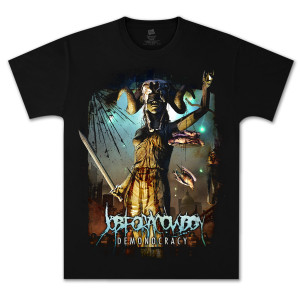 Job For A Cowboy Demonocracy T-Shirt