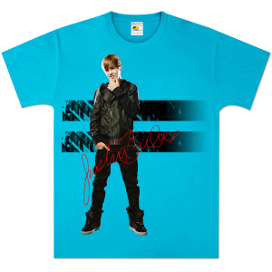 Justin Bieber Double Stripe T-Shirt