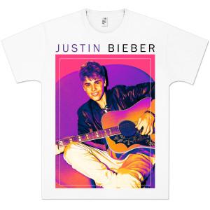 Justin Bieber Guitar Frame T-Shirt