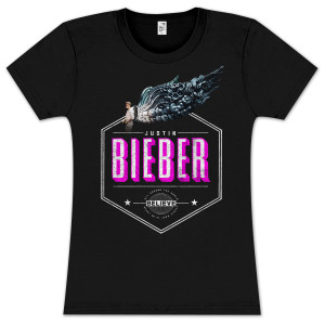 Justin Bieber Hexagon Wings Junior T-Shirt