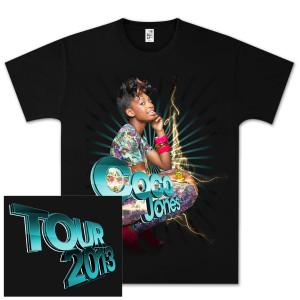 Coco Jones Burst Tour T-Shirt
