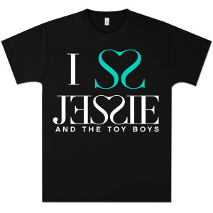Jessie and the Toy Boys I Heart Jessie T-Shirt