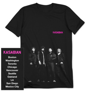 Kasabian New Group T-Shirt