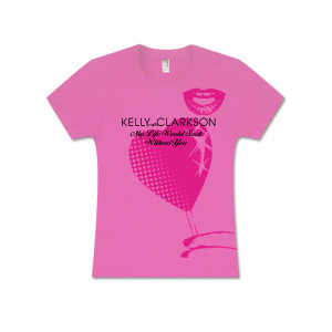 Kelly Clarkson Sucker Hot Pink Babydoll