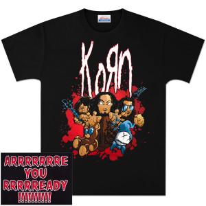 KoRn Are You Ready? Cartoon T-Shirt