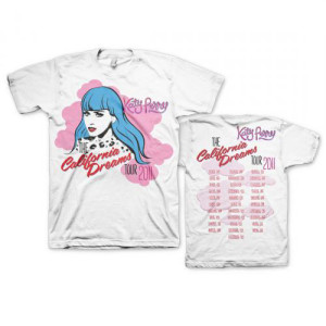 Katy Perry California Dreams 2011 Tour T-Shirt