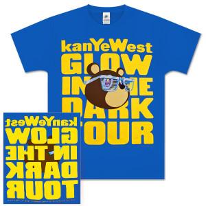 Kanye West Glow Bear Tee