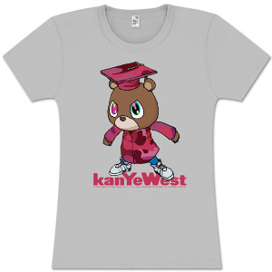 Kanye West Graduation Bear Juniors Tee