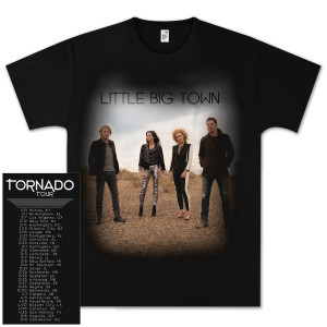 LBT Tornado Tour Dateback T-Shirt