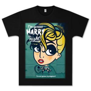 Lady Gaga Marry Cartoon T-Shirt