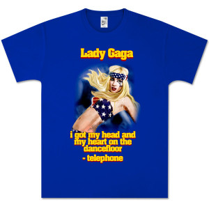 Lady Gaga American Flag T-Shirt