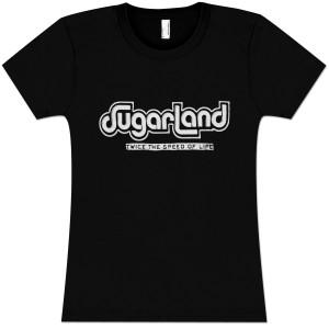 Sugarland Speed of Life Girls T-Shirt
