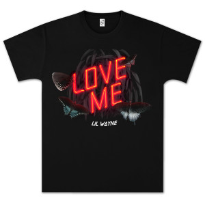 Lil Wayne LOVE ME Single Cover Art T-Shirt