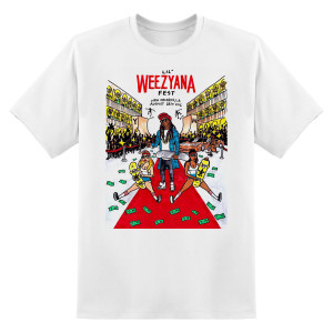 Lil Weezyana Fest T-Shirt