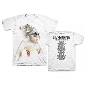 Sketch Photo White Tour Tee