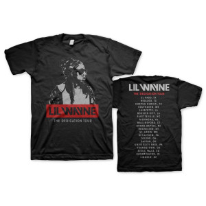 Black and White Wayne Tour Tee