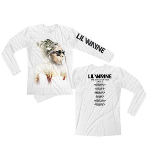 Faded Weezy White Tour Longsleeve