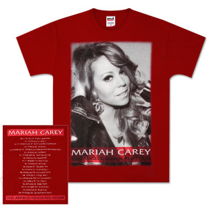Mariah Carey  Red Angel Tee