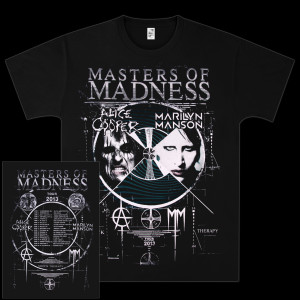 Marilyn Manson Masters of Madness Event T-Shirt