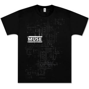 Muse Repeating Logo T-Shirt