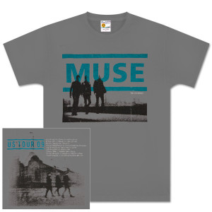 Muse Guided Walk Grey T-Shirt