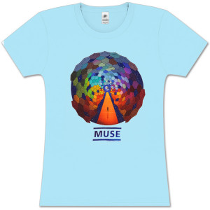 Muse Fade Resistance Light Blue Women's T-Shirt